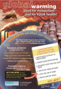 Climate Change and Health Poster