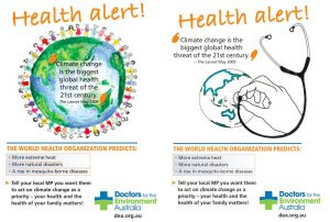 Election Health Alert: DEA Climate Change Posters