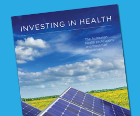 Investing in Health report: how health professionals can help shape the future