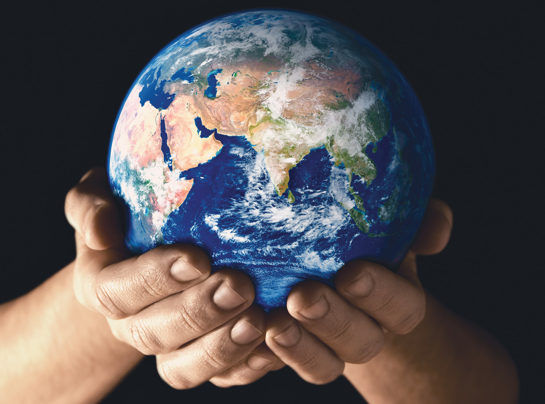 The Planet Needs Healing Hands